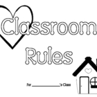 Classroom Rules Class Book for Back to School
