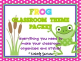 Classroom Theme {Frogs & Polka Dots}