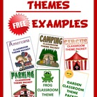 Classroom Themed FREE SAMPLES - Great for Back to School
