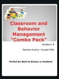 Classroom and Behavior Management Package Gr.6-9 (Great fo
