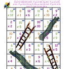 Climb or Slide - Super Fun Multiplication Game