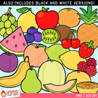 Clip Art: Fresh Fruit - food-themed clipart