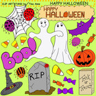 Clip Art Happy Halloween