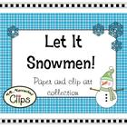 Clip Art ~ Let it Snowmen!