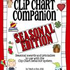 Clip Chart Companion- Seasonal Awards Edition
