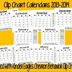 Clip Chart Daily Behavior Calendar
