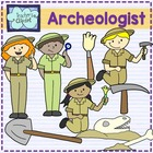 Clipart: Archaeologist kids