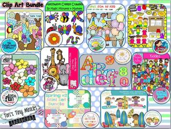 Clipart Bundle ( Spring and Summer )