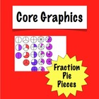 Clipart Fraction Pie Pieces Clip Art