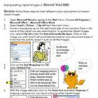 Clipart Manipulations Microsoft Word 2003
