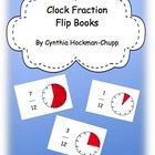 FREEBIE!! Clock Fraction Flip Book