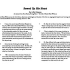 "Close Read Common Core Aligned ""Sewed Up His Heart"" Lesson"