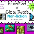 Close Read Non Fiction Mega Pack ~ Common Core Aligned