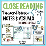 Close Read and Annotation Posters, Handouts, and Bookmarks Pack