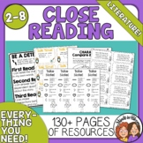 Close Reading Toolkit for Literature