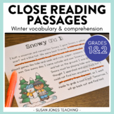 Close Reading for 1st Grade (Winter Edition)