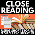 Close Reading for Middle School Students - with excerpts f