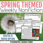 Close Reading for the Spring (14 Nonfiction Passages)