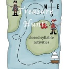 Closed Syllable Activities Pack (worksheets/centerwork)