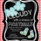 Cloudy With A Chance Of Meatballs Centers and Activities