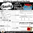 Cloudy With a Chance of Meatballs Activity Packet