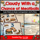 Cloudy With a Chance of Meatballs ~ Weather Booktivities f