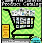Clutter-Free Classroom Product Catalog {includes links to