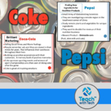 Business Lesson Coca Cola Pepsi Marketing Activity