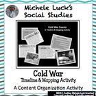 Cold War Events Timeline & Mapping Activity World History