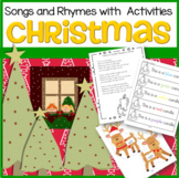 CHRISTMAS Songs and Rhymes with Activities
