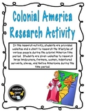 Colonial America Research Activity