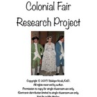 Colonial Life Research Project