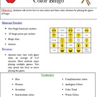 Color Art Bingo - Advanced