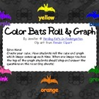 Color Bats Roll & Graph Activity