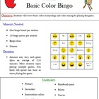 Color Bingo - Basic