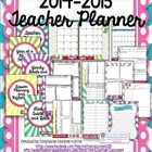 Color Burst Teacher Organizer with Planning, Goal Setting,