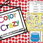 Color Crazy {a color recognition game} *FREEBIE*