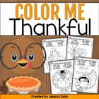 Color Me Thankful {10 Coloring Printables for Sight Words