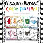 Color Posters {chevron print}
