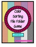 Color Sorting Games- TEACCH Tasks for Student's with Speci