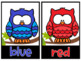 Color Word OWLS Posters and Printables