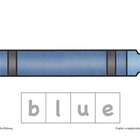 Color Word Spelling (Crayons)