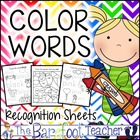 Color Words Fun Activity