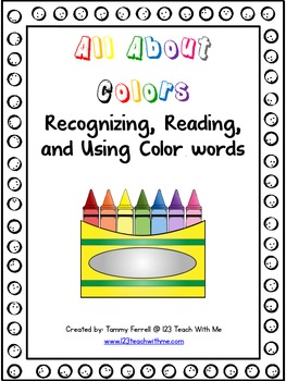 Color Words: Recognizing, Reading, and Using Color Words