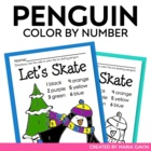 Color by Number Penguin Fun