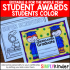 Colorable Certificates For Throughout the Year {Simply Kinder}