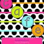 Colorful CAFE Posters & Strategy Cards {Reading Strategies}