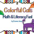 Colorful Cats Math, Science and Literacy Fun! { Aligned wi
