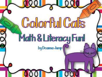 Colorful Cats Math, Science and Literacy Fun! { Aligned with Common Core}