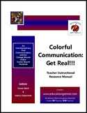 """Colorful Communication: Get Real!!! – Paperback Manual (C"